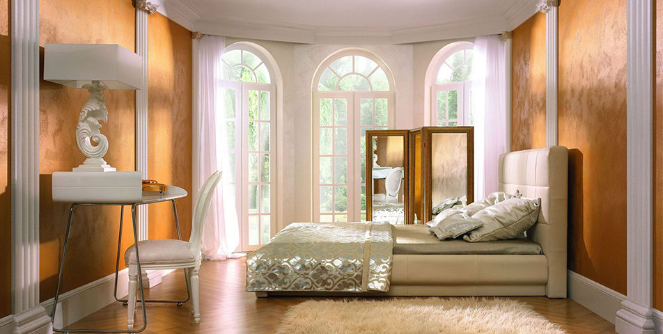 Farba perłowa do sypialni