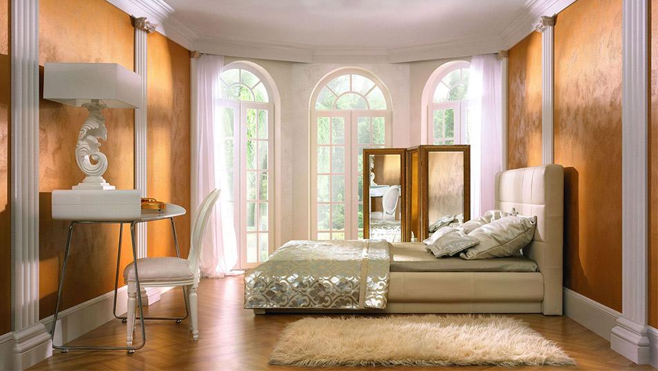 Perla Sabbia na ścianie w salonie